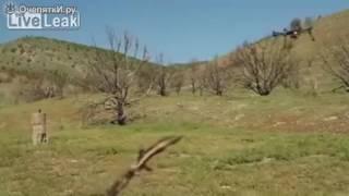 Стрельба из револьвера с дрона