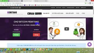 Trade bitcoin trên Remitano