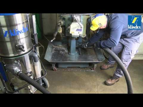 Industrial Vacuums for Oil and Metal Chips • KLINDEX