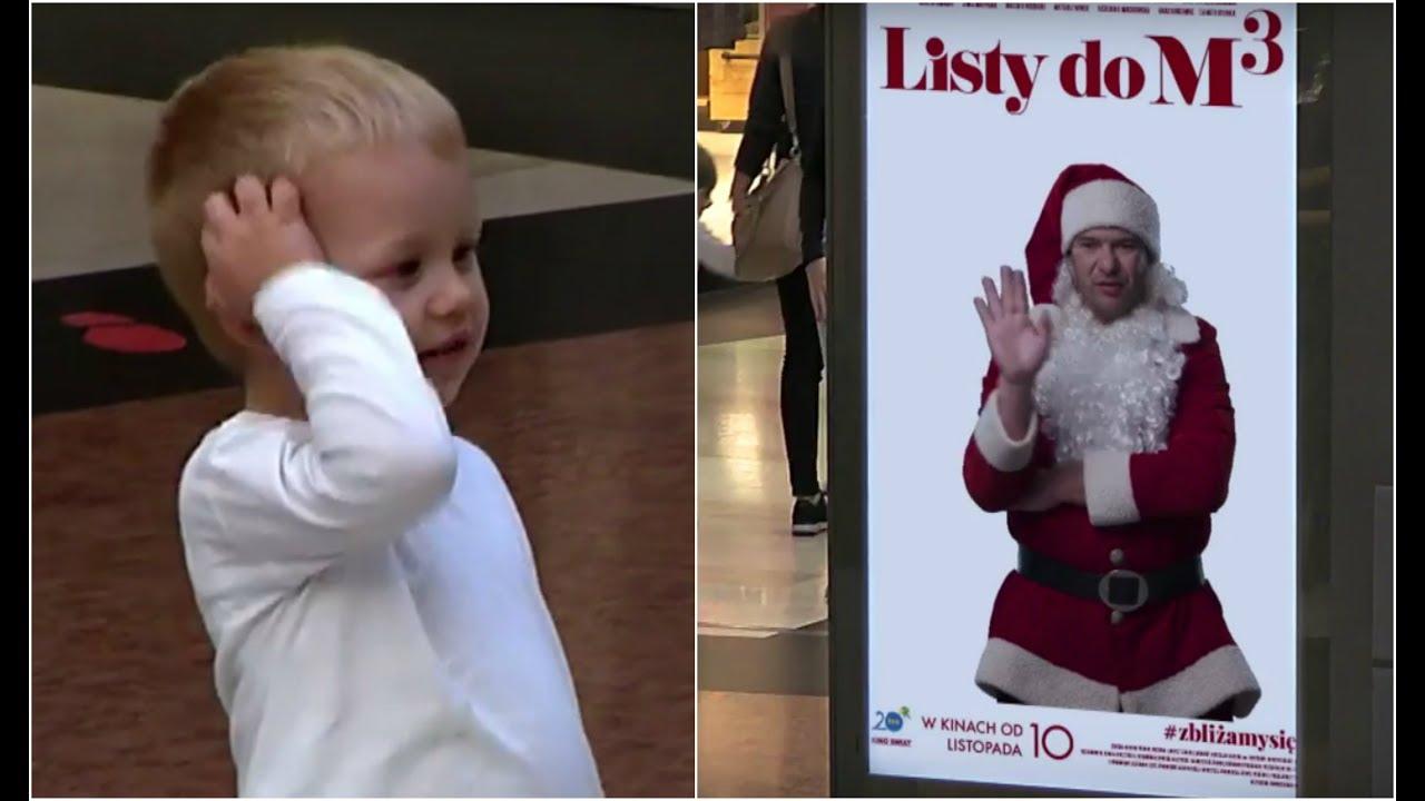 TYLKO U NAS: Św. Mikołaj zaczepiał przechodniów w centrum handlowym! [Listy do M. 3]
