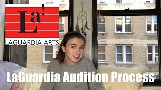 LAGUARDIA AUDITION PROCESS | Audra Baruch