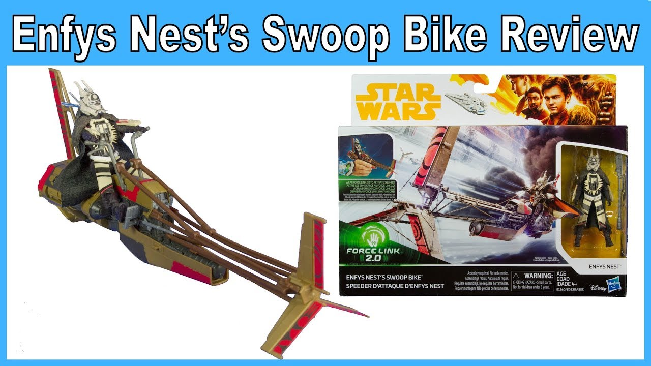 Enfys Nest/'s Swoop Bike and Enfys Nest Star Wars Solo Vehicle
