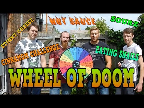 Wheel Of Doom or Horrible Food with the Bros