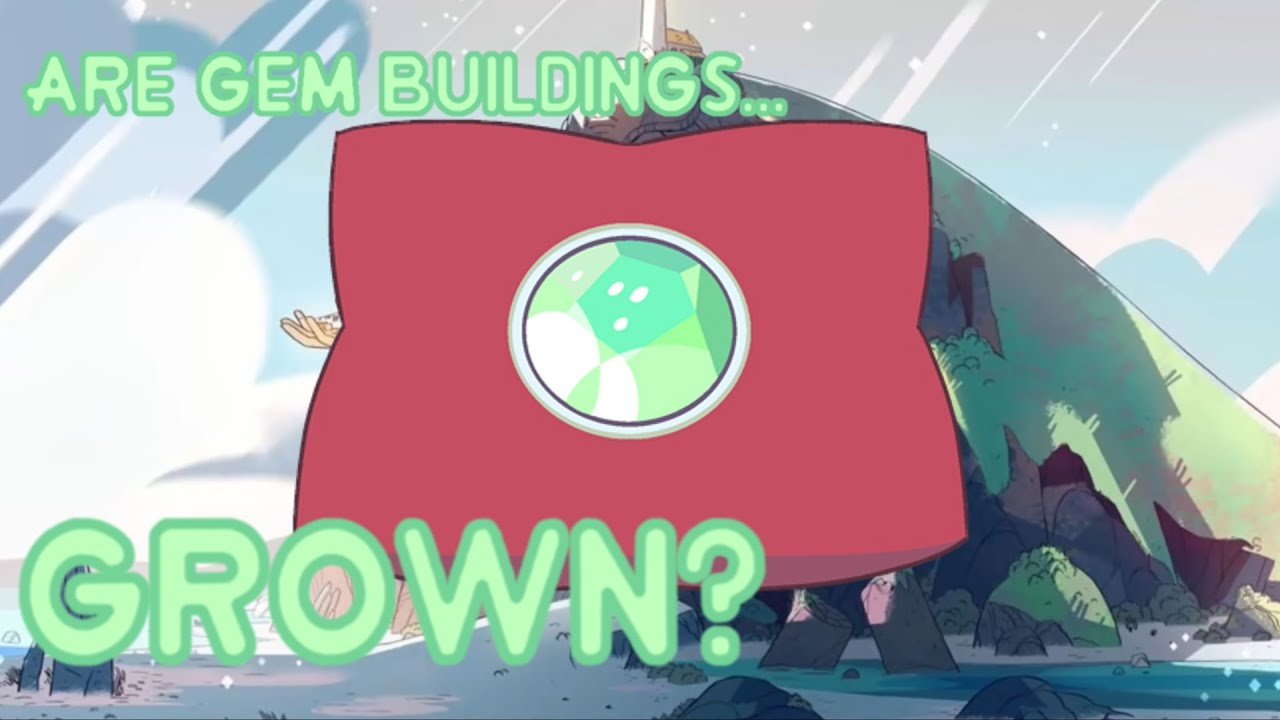 Gem Buildings Steven Universe