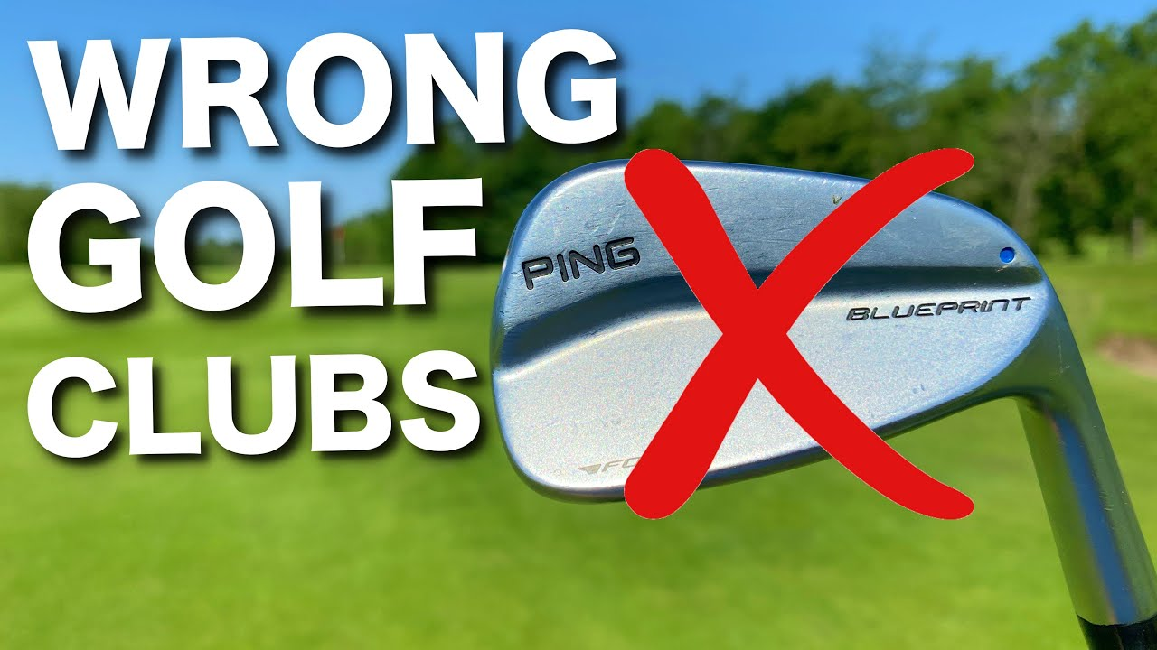 I've been using the WRONG golf clubs