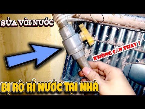 Cách sửa vòi nước bị rò rỉ nước tại nhà - Không cần thay (Water tap Fix)  | Văn Hóng