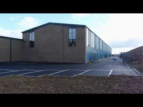 KMG Systems Limited purpose built manufacturing facility in the UK
