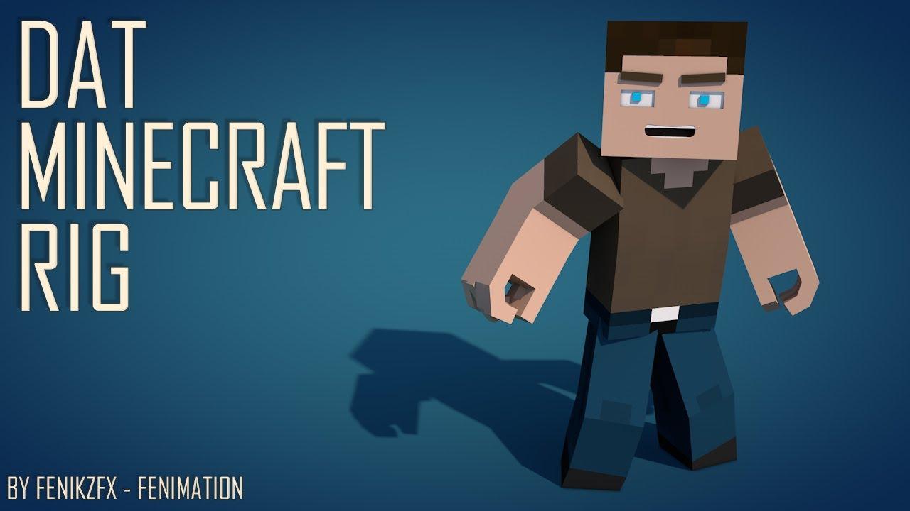 скачать риг для cinema 4d minecraft