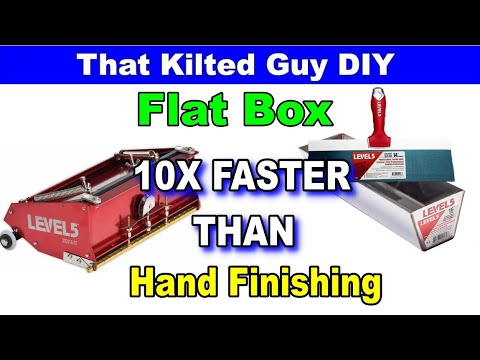 This Tool WILL Save You TONS Of Time On Your Drywall Finishing!