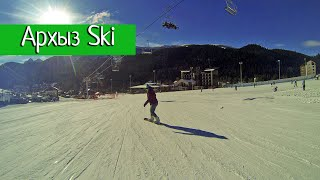 Открытие сезона на Архыз Ski декабрь 2015(Короткое видео с нашей поездки на открытие горнолыжного курорта Архыз Ski 26 декабря 2015 года. Снято на GoPro..., 2015-12-27T14:48:04.000Z)