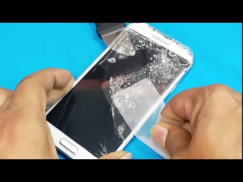 Samsung Mobile LED Display - JUST Cracked Front Glass Replacement