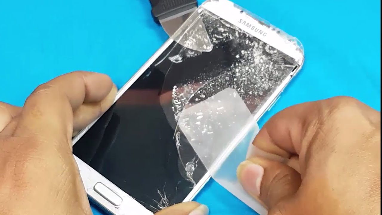 Samsung Mobile Led Display Just Cracked Front Glass Replacement Youtube