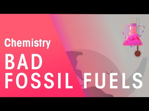 How Burning Fossil Fuels Leads to Climate Change | Environmental Chemistry | Chemistry | FuseSchool