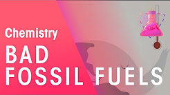 How Burning Fossil Fuels Leads to Climate Change | Chemistry for All | FuseSchool