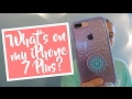What's on my iPhone 7 + Rose Gold? | itzamanda