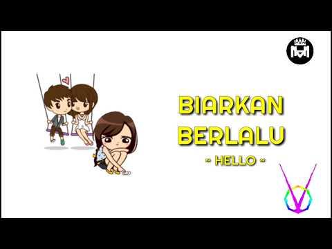 〘HM〙HELLO - BIARKAN BERLALU (Animasi Lyrics) Cover By Angga Candra