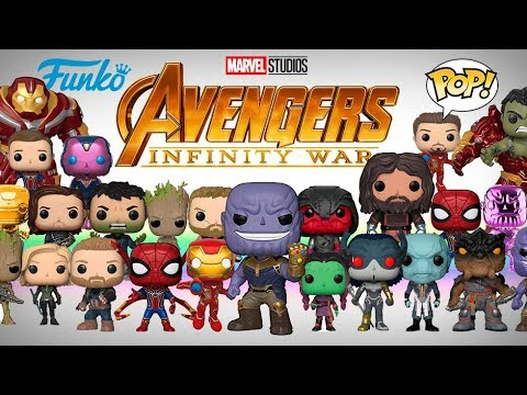 Pops 2018 Avengers Infinity War Funko Pop Youtube