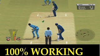 How to Download and Install BRIAN LARA INTERNATIONAL CRICKET 2007 GAME for pc