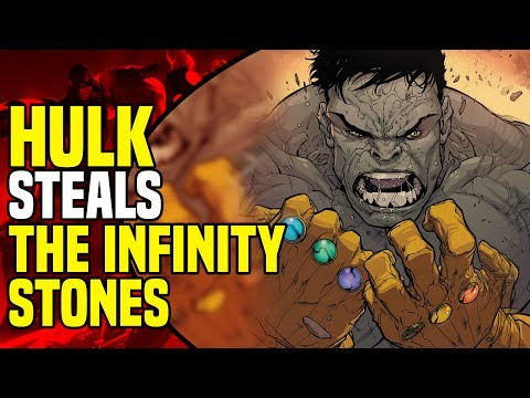 Ultimates Disassembled: Hulk Steals The Infinity Gauntlets