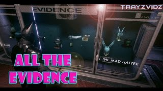 EVIDENCE ROOM Including DLC [Batman Arkham Knight]