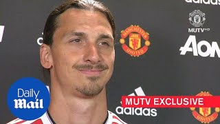 Ibrahimovic is ready to create special memories at United - Daily Mail