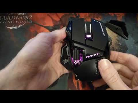 Mad Catz R.A.T. 8+ And How To Modify It