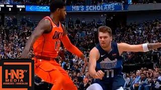 OKC Thunder vs Dallas Mavericks 1st Qtr Highlights | 12/30/2018 NBA Season