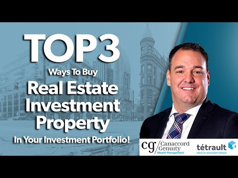 Top 3 Ways To Buy Real Estate Investment Property In Your Investment Portfolio