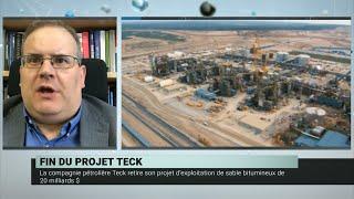 Teck Resources abandonne sa mine de sables bitumineux Frontier – Daniel Béland et Geneviève Tellier