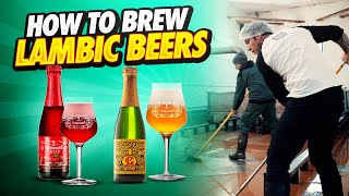 How Do You Brew Lambic Beer🍺?  How Lambic Is Made With Lindemans Brewery