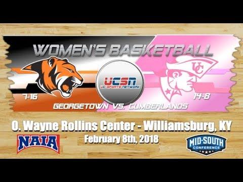 University of the Cumberlands - Women's Basketball vs. Georgetown College 2017-2018