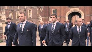 Italy Welcome Ceremony at Hampton Court Palace