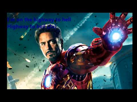 ACDC - highway to hell (Lyrics) [Iron-man] Tribute Classic Hits (Cover)