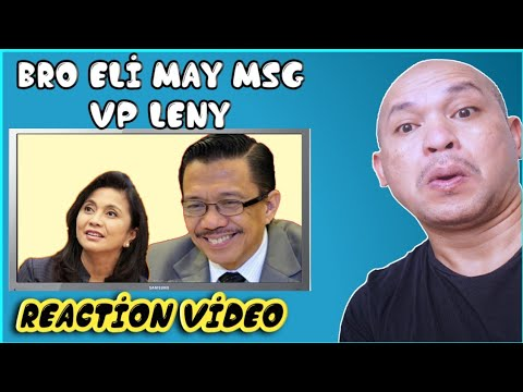 Panawagan ni Bro eli kay VP Leny:Reaction video from YouTube · Duration:  13 minutes 46 seconds