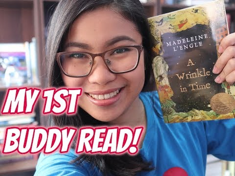 MY FIRST BUDDY READ: A WRINKLE IN TIME + BOOK REVIEW