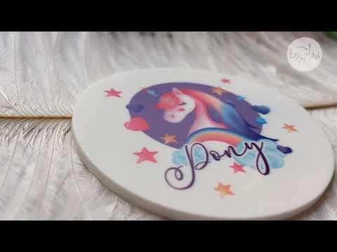 【六月頻道】Pony彩虹小馬背墊/睫毛墊片書用墊