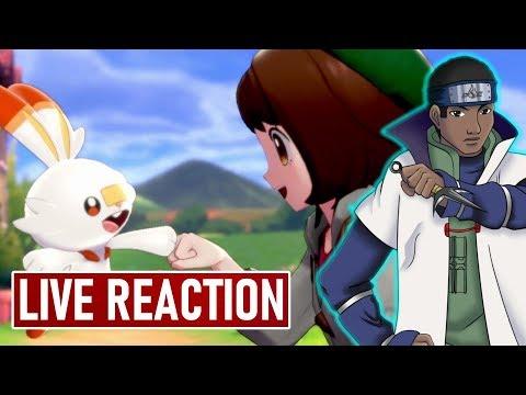 New Pokemon Sword & Shield Info Day! 6 AM PT/ 9 AM ET!   LIVE REACTION