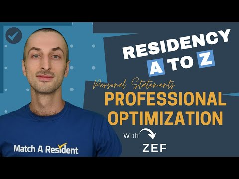 Why You Need Professional Help With Your Residency Personal Statement