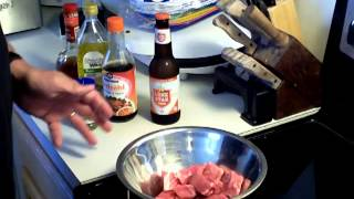Beef Steak Kabobs - My Way - Part 1