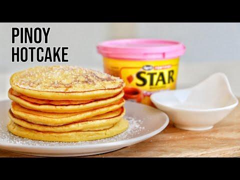 HOTCAKE RECIPE FILIPINO PANCAKE | Hot cake recipe na patok sa panlasang pinoy
