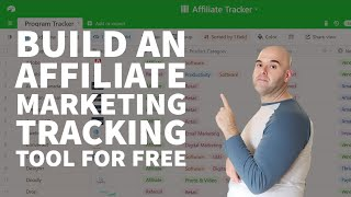 Build an Affiliate Marketing Tracking Tool For Free