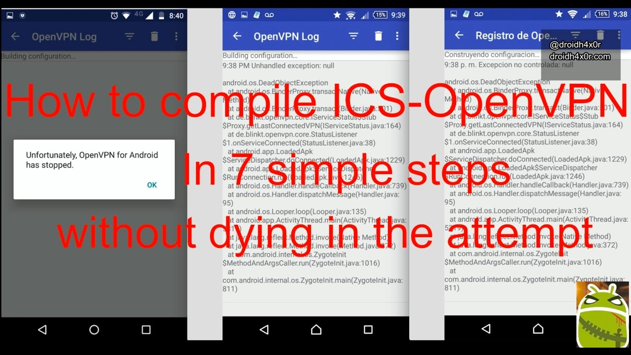 How to compile ics openvpn in simple 7 steps without dying in the attempt