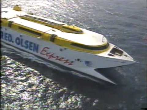 Fast Ferry. Fred. Olsen Express.