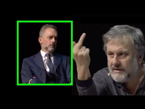 """Zizek Challenges Peterson: """"Set Your House in Order Before You Change the World?"""""""