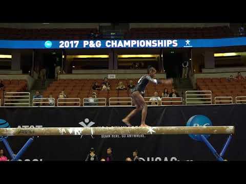 Anya Pilgrim - Balance Beam - 2017 P&G Championships - Junior Women - Day 1
