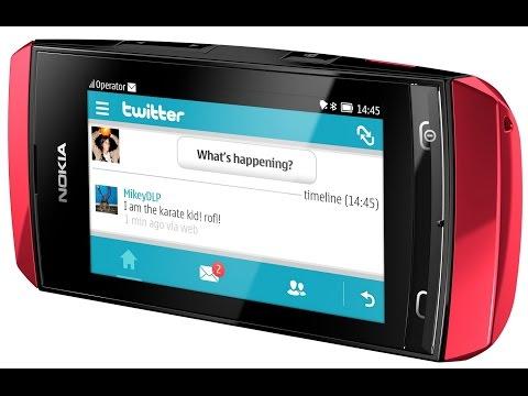 Nokia asha 306, замена LCD