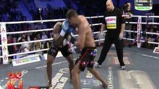 James Wilson (USA) vs Ionut Iftimoaie (Romania) - Superkombat Final elimination 10.11.2012  Round 1