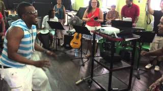 Glocal Service at Guyana Lutheran Music Academy in New Amsterdam, Guyana (West Indies)