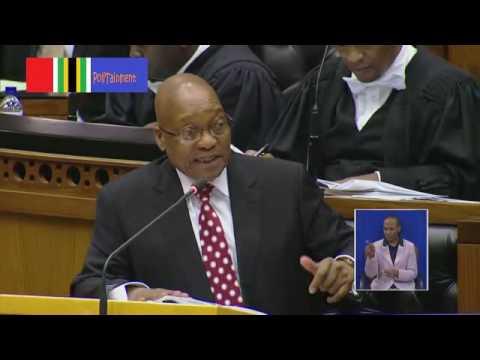Jacob Zuma defending Duduzane (his son)