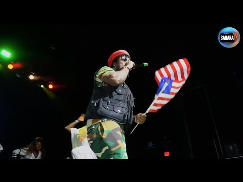 Liberian Singer DENG Performs LIVE At #OneAfricaMusicFest #NYCshutdown